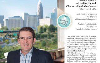 "Top Charlotte Dentist in ""Charlotte"" magazine"