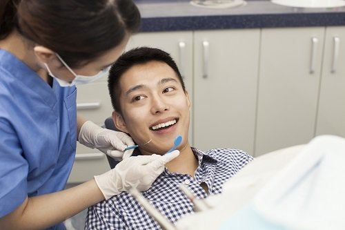 Adult-Dentistry-of-Ballantyne-Charlotte-NC-happy-relaxed-dentist-visit