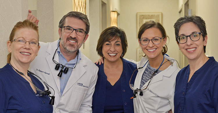 Dr. Robert L. Harrell, DDS and Dr. Rebecca Ciccione, DDS